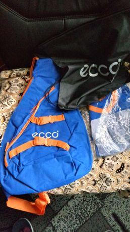 Ecco аксесуары, рюкзак, детская сумка-ранец, футболка на 4-6 лет.