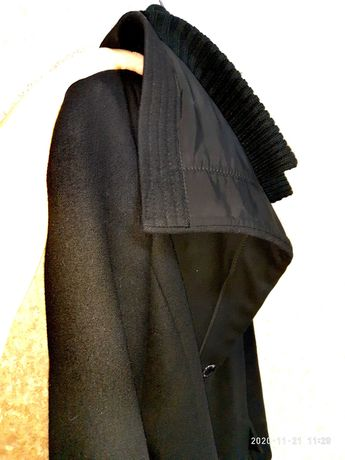Нове Кашемірове класичне пальто, курточка 46 розміру