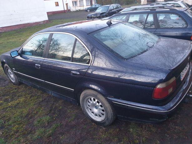 Części BMW E39 520d 2.0d M47 136KM Cała na części Orientblau