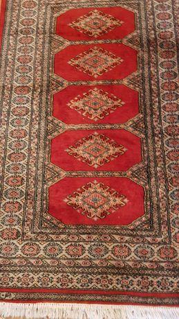 dywan orientalny wełniany wymiary 160x94 używany