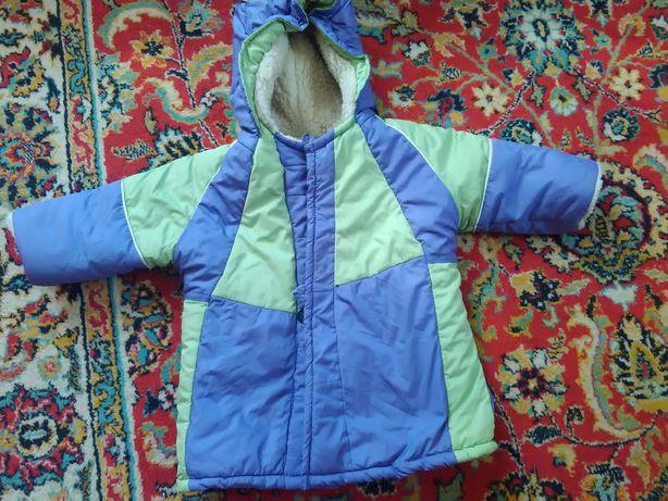 Зимняя куртка пальто конверт