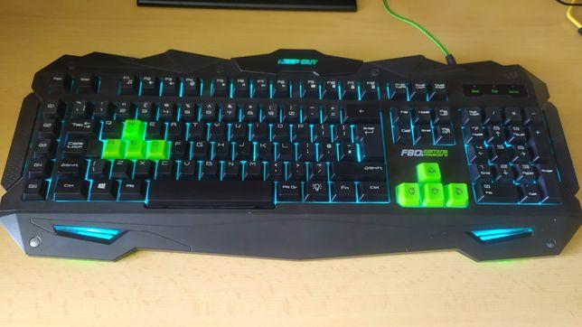 Klawiatura membranowa 100% KeepOut F80 Gaming Keyboard