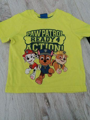 Podkoszulek na 2-3 latka psi patrol chłopięcy