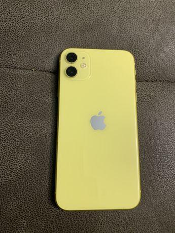 Продам iphone 11 yellow 64gb айфон 11 жовтий