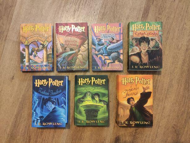 J.K. Rowling Harry Potter 1-7, komplet, 1 wydanie, twarda oprawa