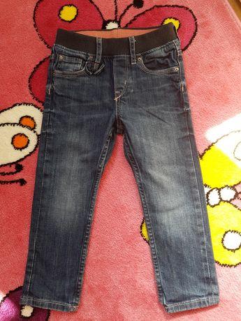Spodnie jeans jeansowe tregginsy H&M rozmiar 98