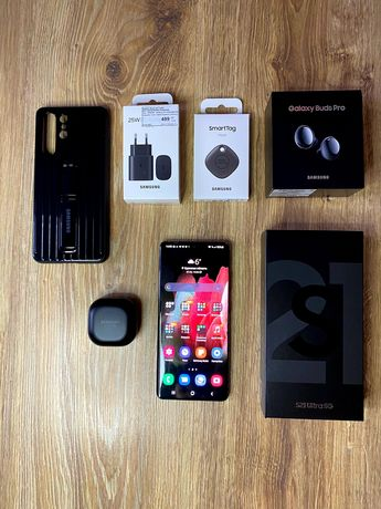Samsung S21 Ultra. Состояние идеальное!