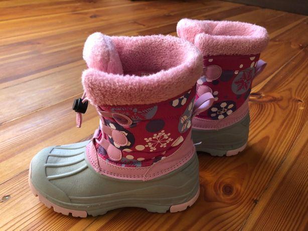 Buty zimowe 32 dziewczęce