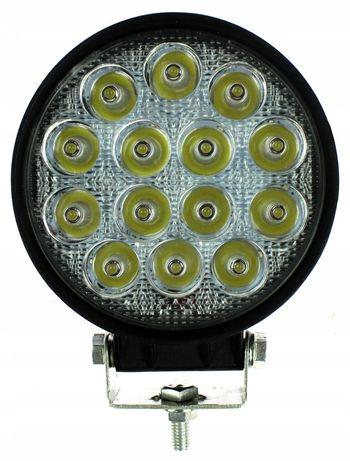 Lampa Robocza 14 Led 42W Okrągłą 12V 24V Ledowa Ce