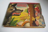 Czerwony Kapturek, 1959, książka rozkładana