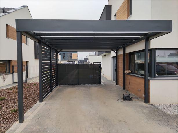 Wiata garażowa na jedno auto, carport, zadaszenie, altana