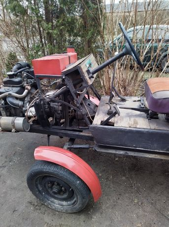 Traktorek Sam silnik fiat 126p