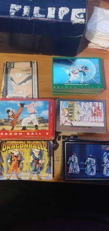 Cartas Dragon Ball Z e GT Panini Anos 90 e 2000