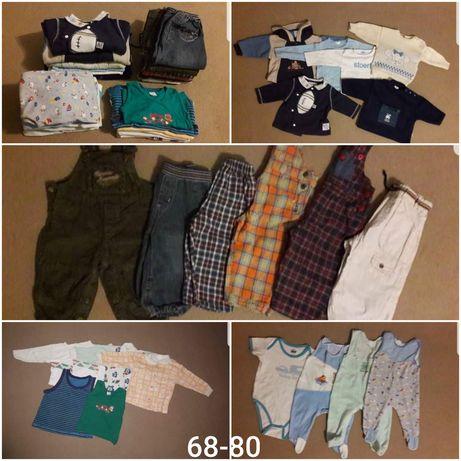 Ubranka dla Chłopca 68-86