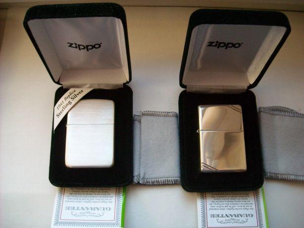 Зажигалка бензиновая Zippo Серебро