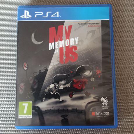My Memory Of Us PS4