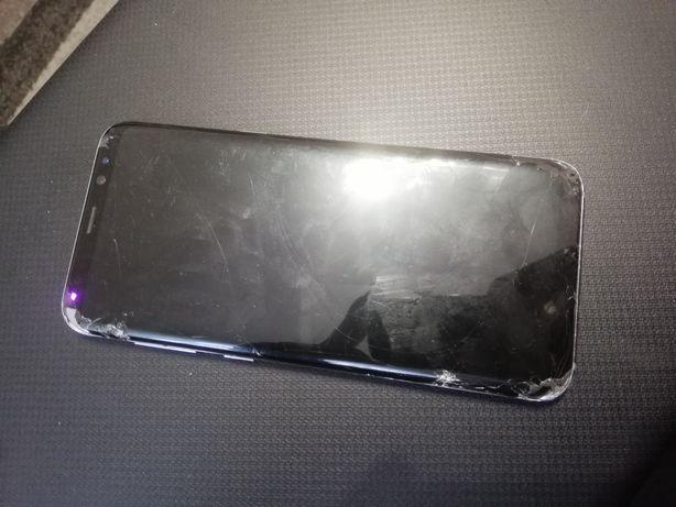 Samsung galaxy s8 plus uszkodzony