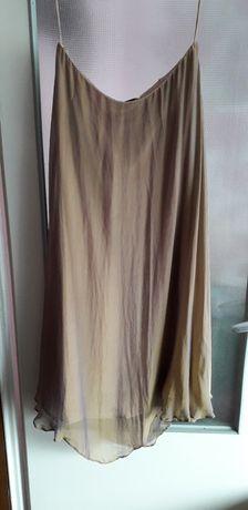 ARYTON jedwabna spódnica r.44