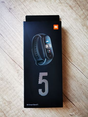Opaska sportowa Xiaomi Mi Band 5 Nowa