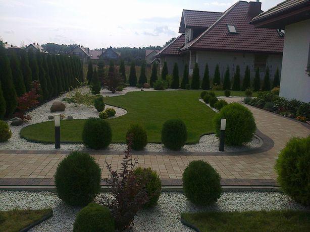 Zakładanie i projektowanie ogrodów, nawadnianie, pielęgnacia