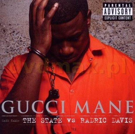 Gucci Mane - The State Vs Radric Davis nowy w folii hip hop rap