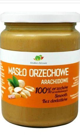 Masło Orzechowe 100% Bez dodatków 500g ŚWIEŻE - Zielarski Toruń ZBR