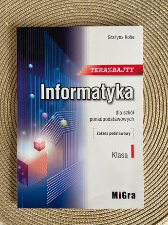 """Podręcznik do informatyki dla szkół ponadpodstawowych ,,Teraz bajty"""""""