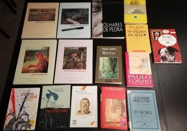 Alexandre Herculano, Pearl Buck, Irving Wallace, Paulo Coelho