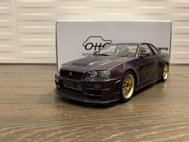 1:18 OttOmobile Nissan Skyline GT-R Nismo Z-Tune (R34)