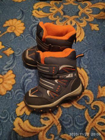 Зимние термо ботинки  Том.м 25р.