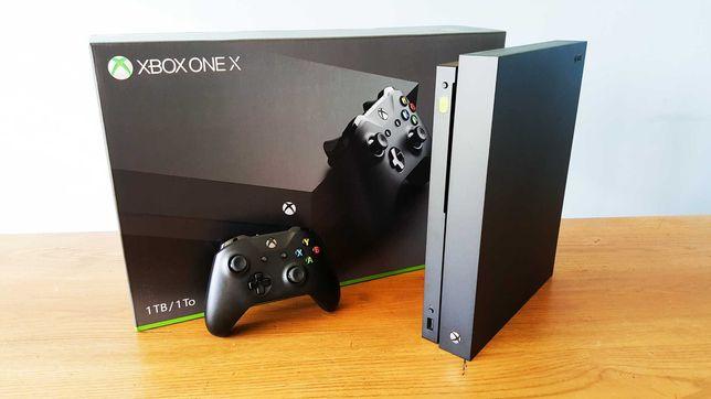 Konsola Xbox One X - jak nowa!