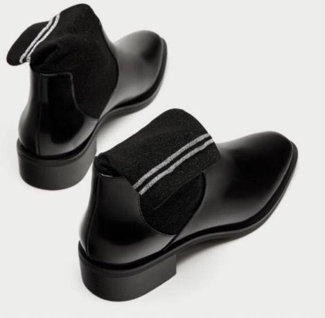 Ботинки Zara. Ботинки деми. Ботинки весна. Ботинки осень. Туфли. Zara