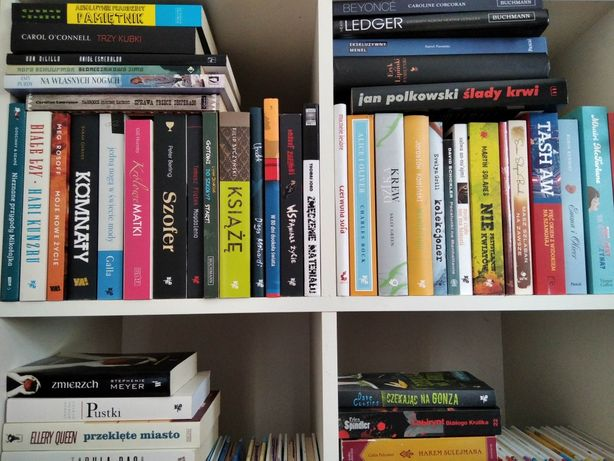 Książka książki NOWE zestaw powieści polskie zagraniczne same nowości