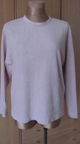 Bluzeczka prążka pudrowy róż ZARA--L