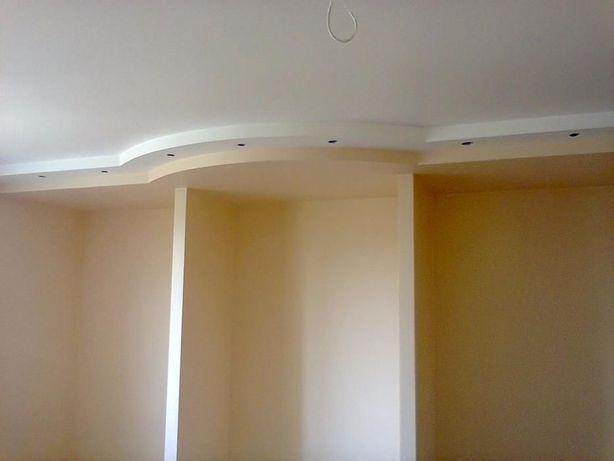 евроремонт квартир.гіпсокартон,малярка,шпаклювання стін від 90 групгі