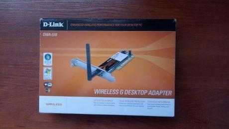 PCI Wi-Fi adapter D-Link DWA-510 цена - 599 рублей