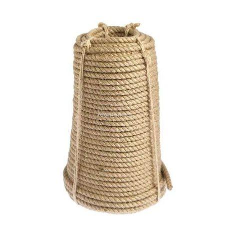 Верёвка(канат) джутовая для рукоделия д. 8 мм