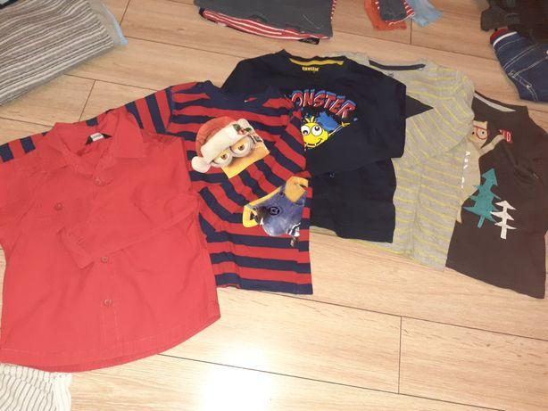 Bluzeczki dla chłopca 110-116