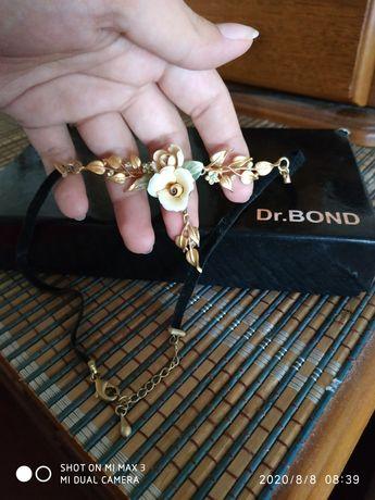 Чокер, ожерелье, украшение на шею, бижутерия