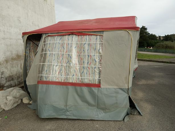 Caravana auto tenda