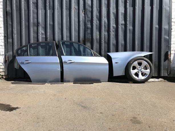 Розборка BMW БМВ Е90 Бампер Двері Крило Кришка Багажника Фари Стопи