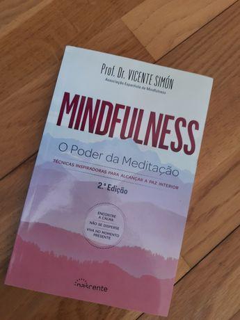 """Livro """"O poder da Meditação - Mindfulness de Vicent Simón"""