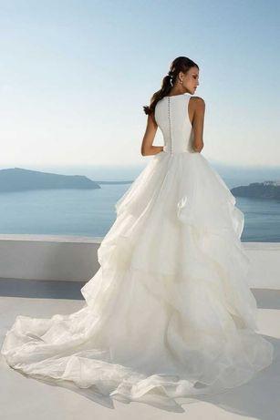 Piękna suknia ślubna Justin ALEXANDER