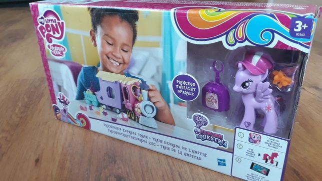 My Little Pony pociag nowy Gwrancha satysfakcji zamknięte opakowanie