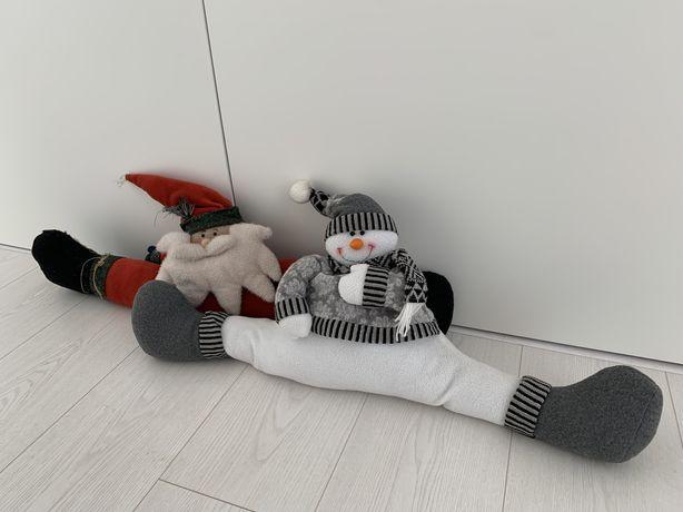 Tapa portas Pai Natal e Boneco de Neve