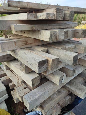 Belki drewniane 10 x 10 dł. 1-1,5mb. konie budowlane