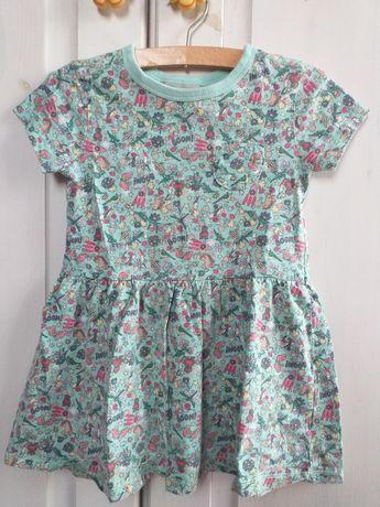 Next sukienka letnia roz.98 bawełniana