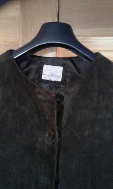 Куртка-пиджак, Papaya, натуральная замша