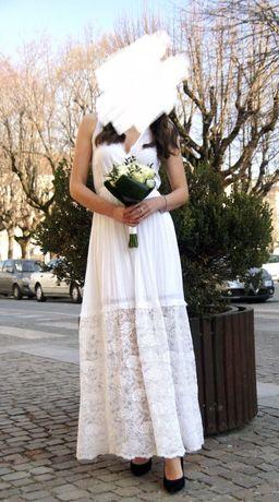 Платье свадебное, летний сарафан Lui Jo 38