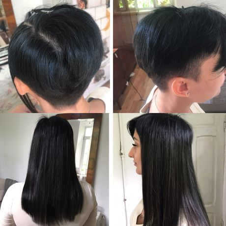 Качественное наращивание волос